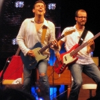 Micke & Jonas in action!